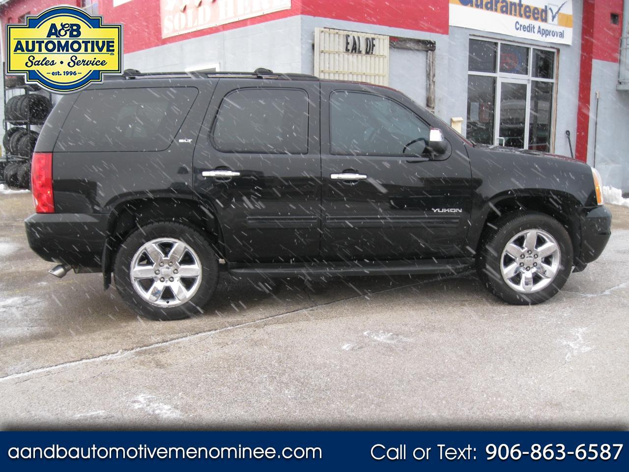 2009 GMC Yukon 4WD 4dr 1500 SLT w/4SB