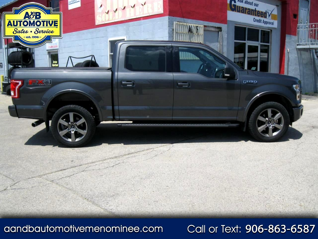 """2015 Ford F-150 4WD SuperCrew 139"""" FX4"""