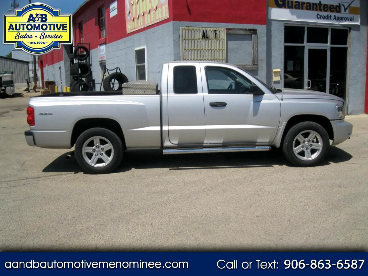 2008 Dodge Dakota 4WD Ext Cab Bighorn/Lonestar