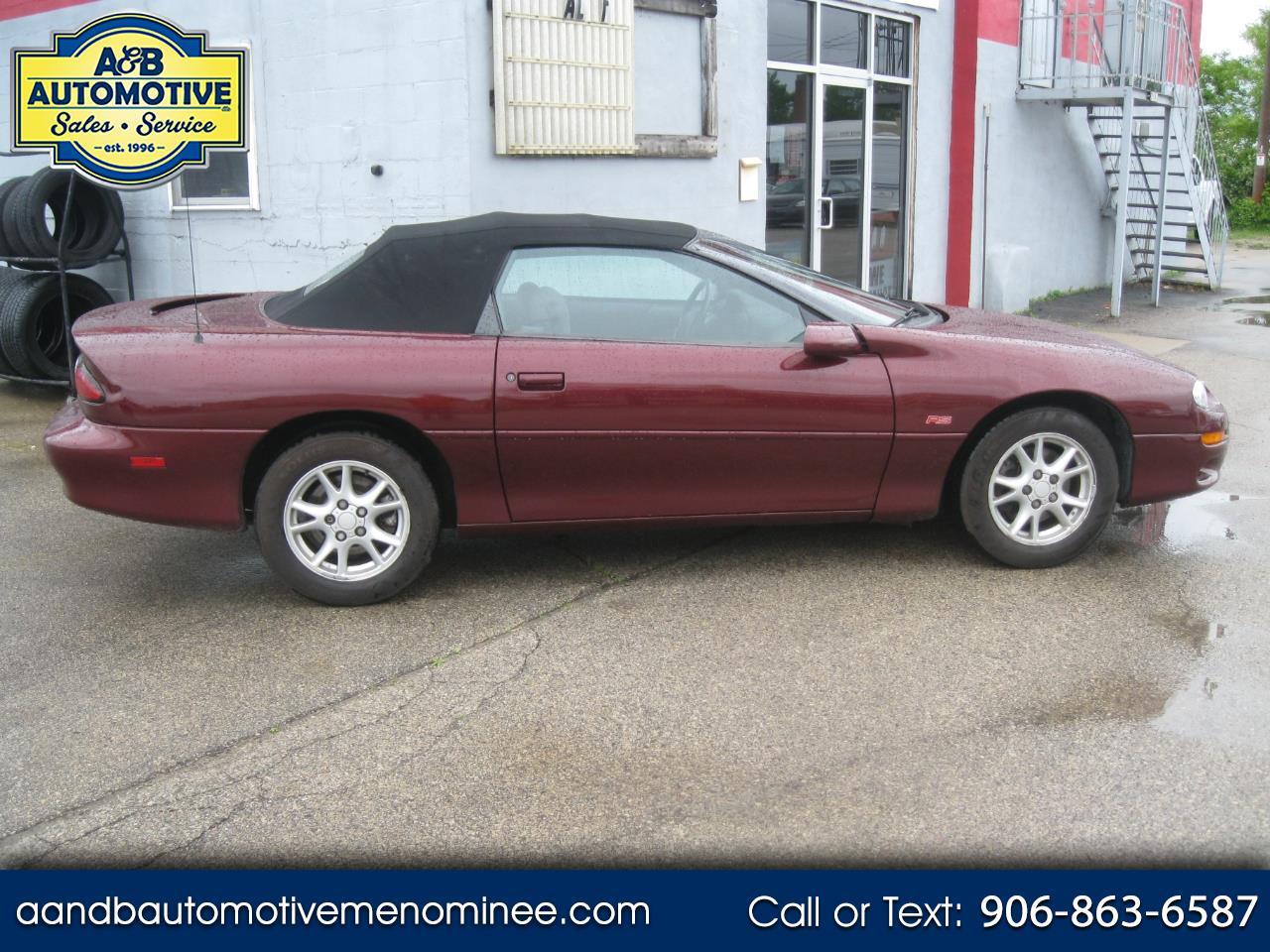 2000 Chevrolet Camaro 2dr Convertible