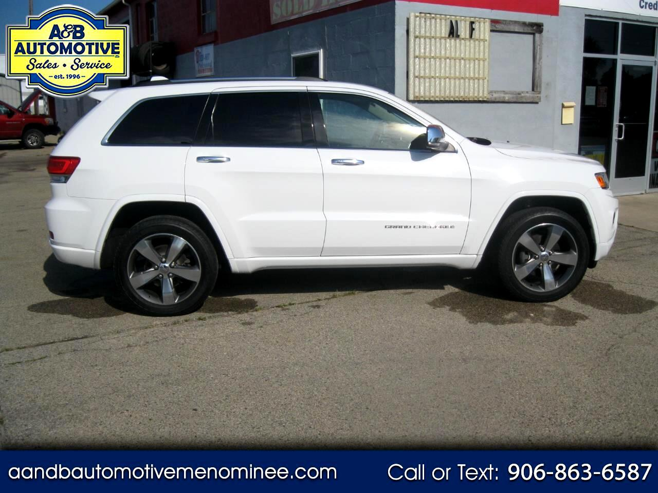 2016 Jeep Grand Cherokee 4WD 4dr Overland