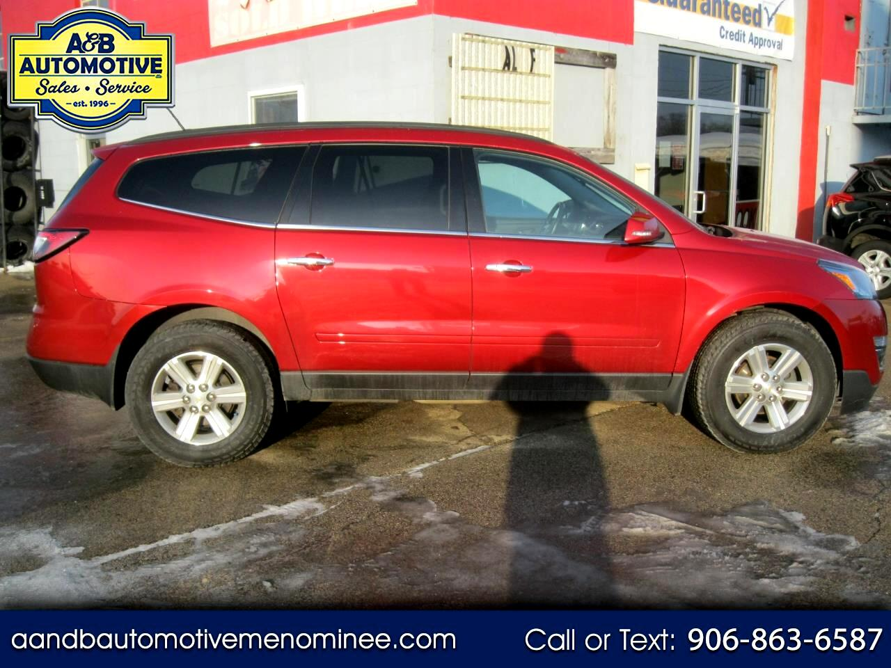 2013 Chevrolet Traverse AWD 4dr LT w/1LT