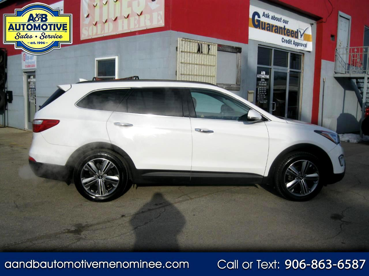 Hyundai Santa Fe FWD 4dr Limited w/Saddle Int 2014