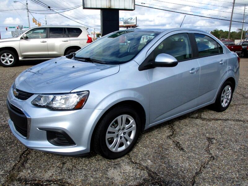 2017 Chevrolet Sonic LS Manual Sedan