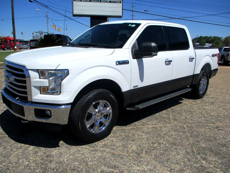 Ford F-150 XLT SuperCrew 5.5-ft. Bed 4WD 2016