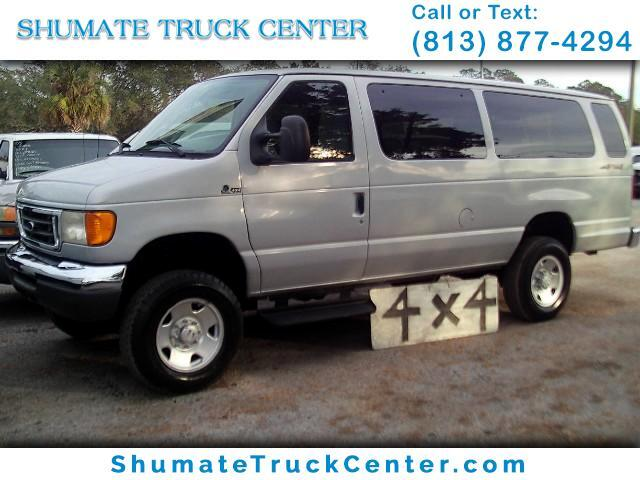 2007 Ford Econoline Wagon 4x4 Extended Quigley