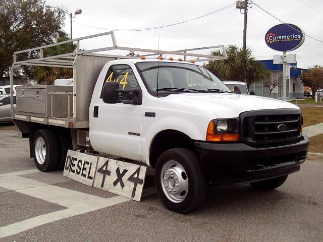 """2001 Ford F-450 Reg Cab 141"""" WB XL 4WD"""
