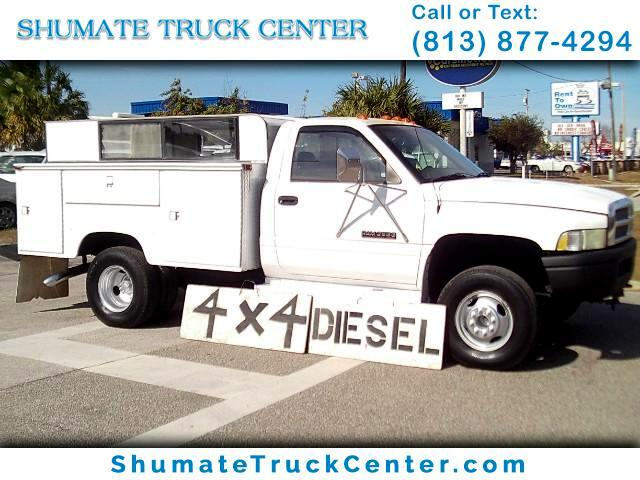 1997 Dodge Ram 3500 4x4 Diesel 5-Speed Utility