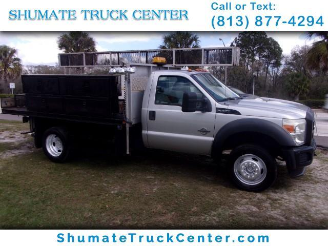 2011 Ford F-550 12' Flatbed