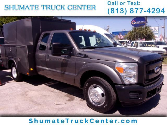 2011 Ford F-350 Quadcab High Top Utility
