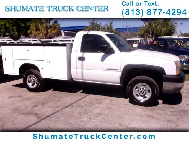2004 Chevrolet Silverado 2500 8 FT. Utility Body