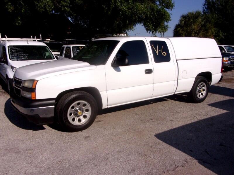 "2006 Chevrolet Silverado 1500 Ext Cab 143.5"" WB 2WD Work Truck"