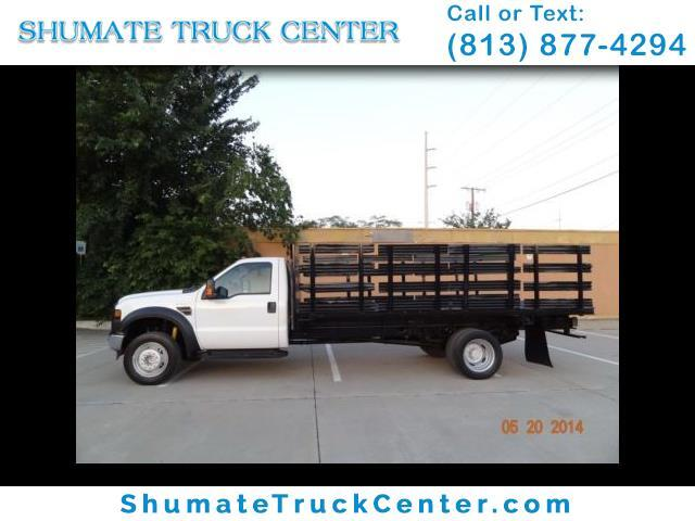 2008 Ford F-550 16 Ft. Flatbed