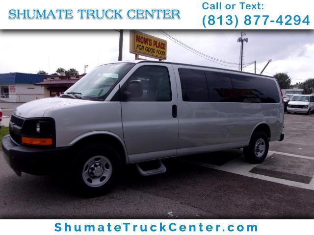 2010 Chevrolet Express 3500 Extended 15 Passenger