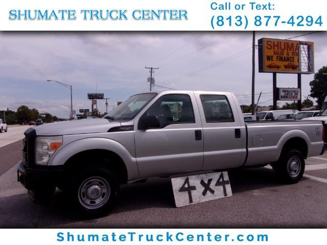 2011 Ford F-250 4x4 Crew Cab 8ft. Bed