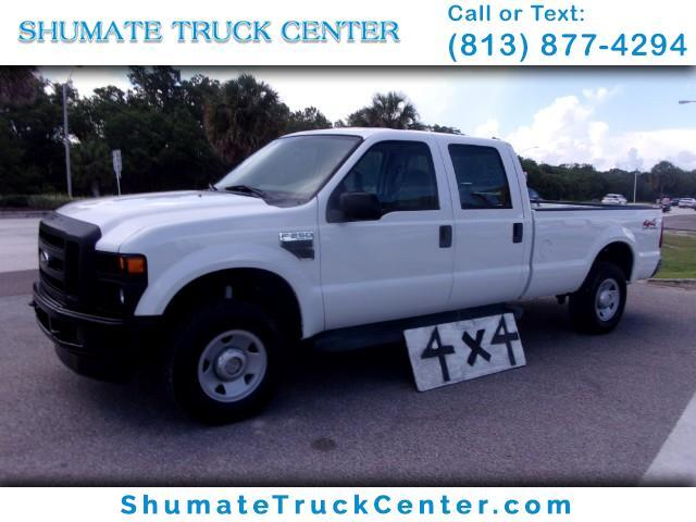 2008 Ford F-250 4x4 Crewcab 8Ft Bed