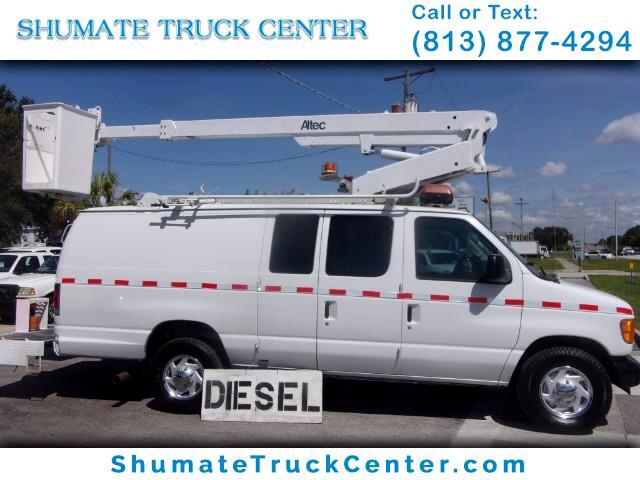 2003 Ford Econoline Cargo 7.3 Diesel 34 FT. Working Height Bucket Van
