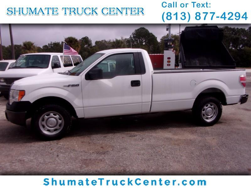 2013 Ford F-150 Reg Cab 8 Ft. Bed