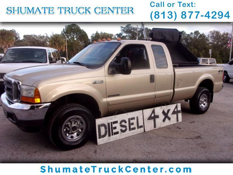 2001 Ford F-250 4x4 Quadcab 7.3 Diesel 8FT. Bed