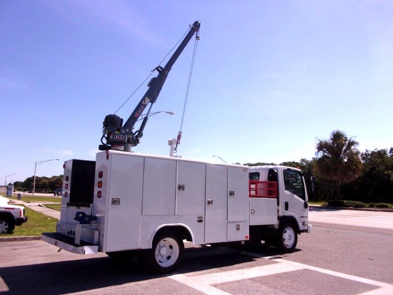 2014 Isuzu NQR 14 FT. Utility / Crane