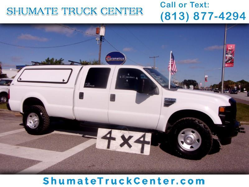 2009 Ford F-350 Crew Cab 4X4 8 FT. Bed