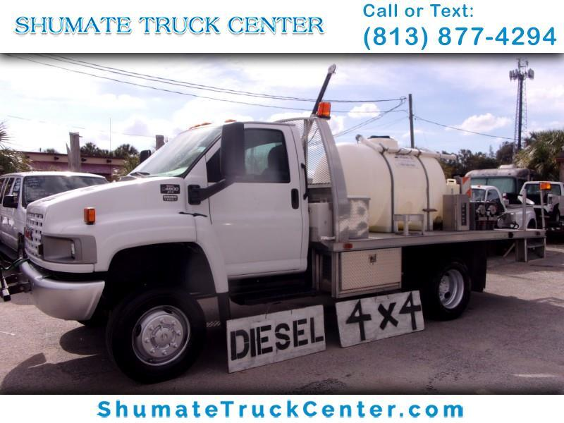 2006 Chevrolet C4500 4x4 Alum. Flatbed w/Tank and Sprayer