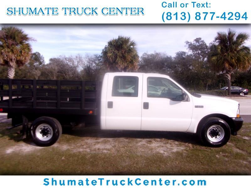 2003 Ford F-350 Crew Cab 8 FT. Flatbed