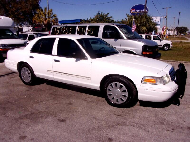 2009 Ford Crown Victoria Police Pkg 4dr Sdn w/3.27 Axle