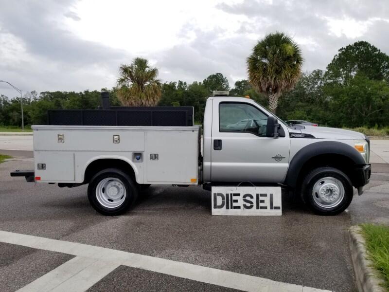 2011 Ford F-550 9 FT. Utiity Diesel