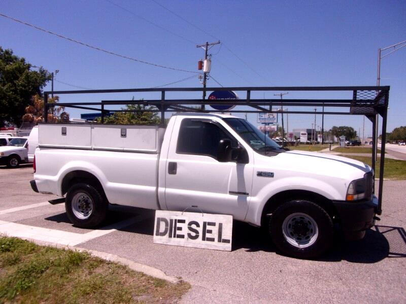 "Ford F-250 Reg Cab 137"" XL 2002"