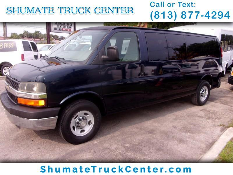 2010 Chevrolet Express 3500 Extended 15 Pass