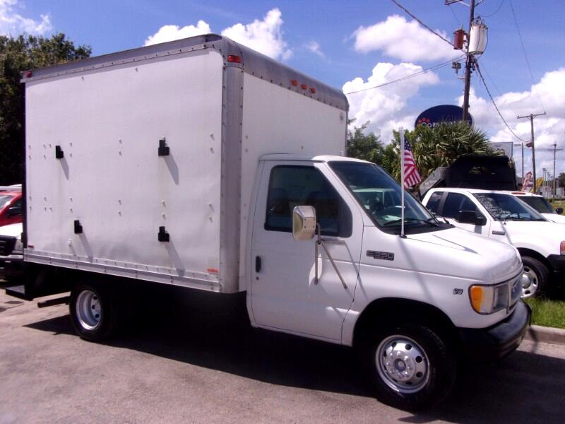 2000 Ford E-350 10 Ft. Cube Van