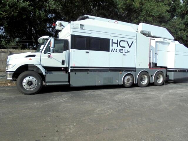 2006 International 7400 X-Ray Truck / Mobile Scan Machine