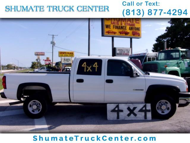 2006 Chevrolet Silverado 2500HD Crew Cab Long Bed 4WD