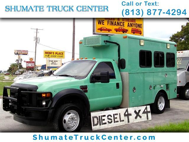 2009 Ford F-550 4x4 Diesel Enclosed Utility