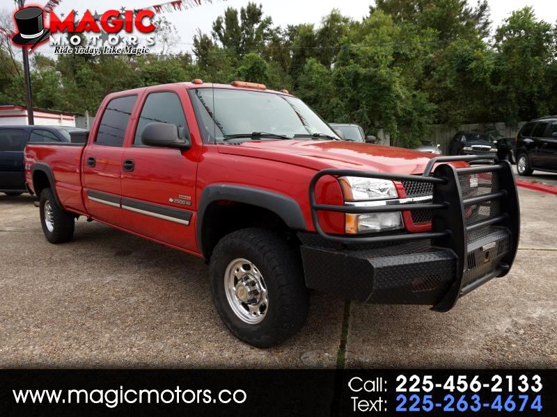 2004 Chevrolet Silverado 2500HD LS Crew Cab Long Bed 4WD