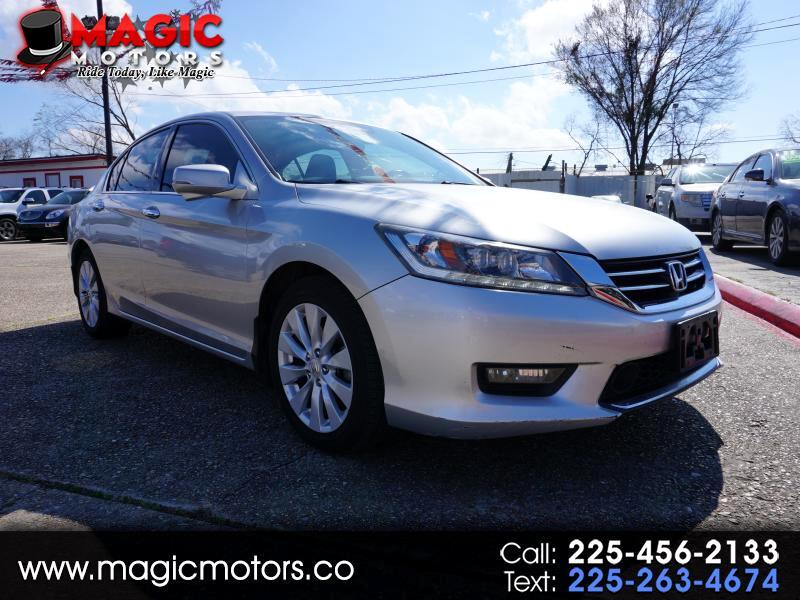2014 Honda Accord Touring V6 Sedan