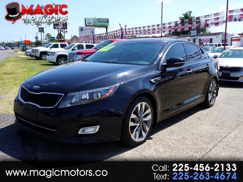 Kia Optima SX Turbo 2014