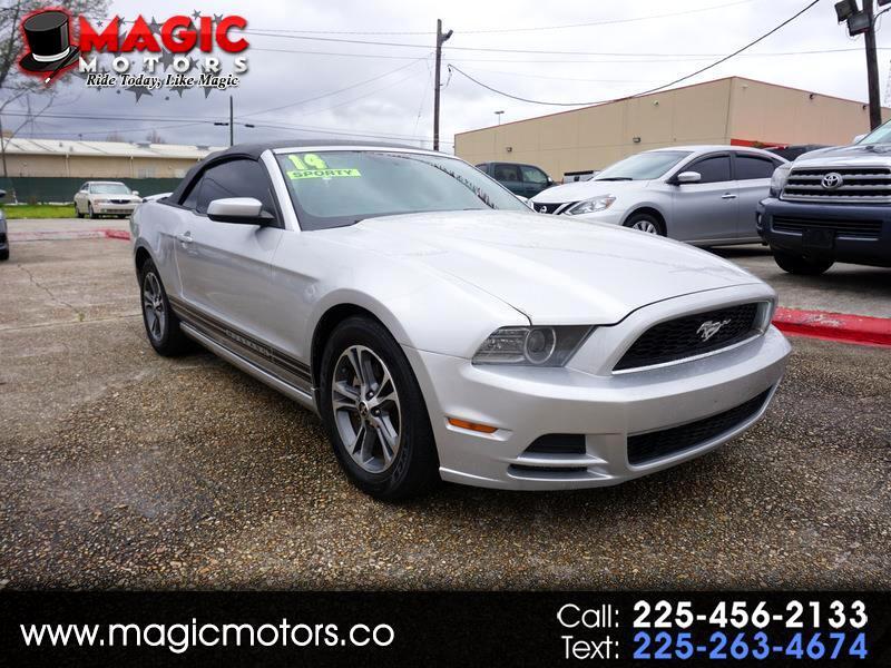 Ford Mustang V6 Convertible 2014