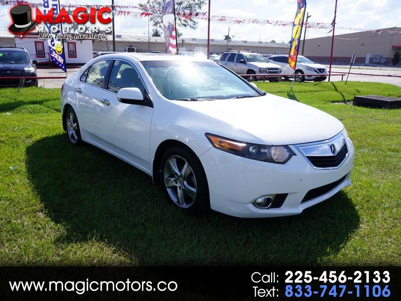 Acura TSX 5-Speed AT with Tech Package 2012