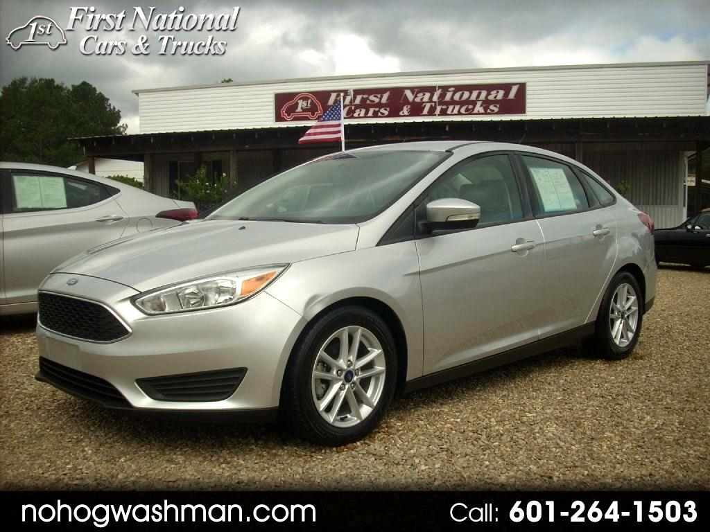 Ford Focus SE Sedan 2016