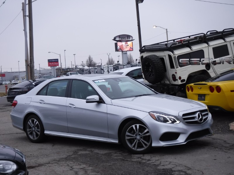 2016 Mercedes-Benz E-Class E250 Sport BlueTEC 4MATIC Sedan