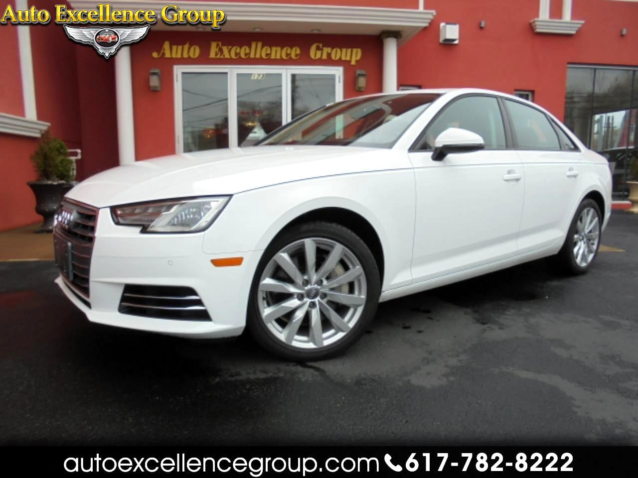 used 2017 audi a4 2 0t premium quattro sedan for sale in boston ma 01906 auto excellence group auto excellence group