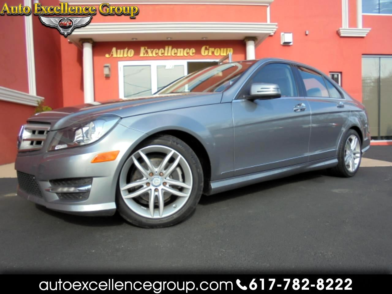 Mercedes-Benz C-Class C300 4MATIC Luxury Sedan 2012