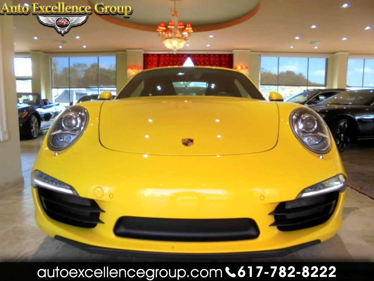 2014 Porsche 911 Carrera 4S Coupe