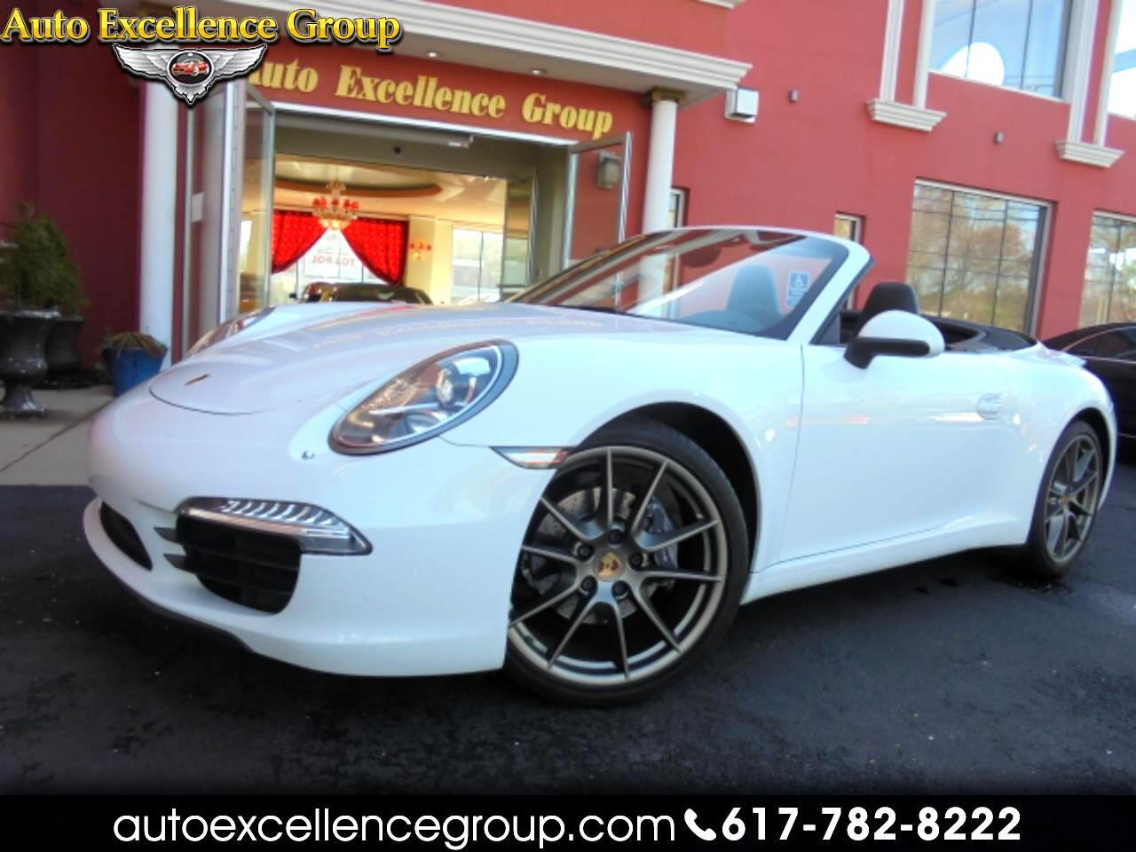 Porsche 911 Carrera Cabriolet 2014