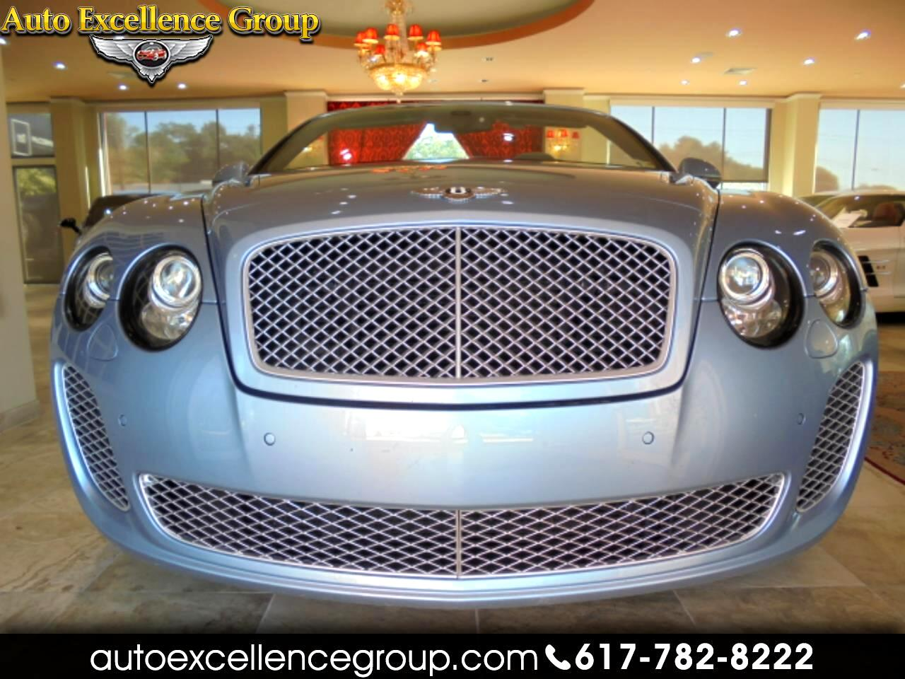 Bentley Continental Supersports ISR Convertible 2012