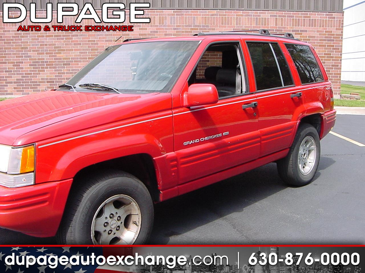 1998 Jeep Grand Cherokee Limited 4WD