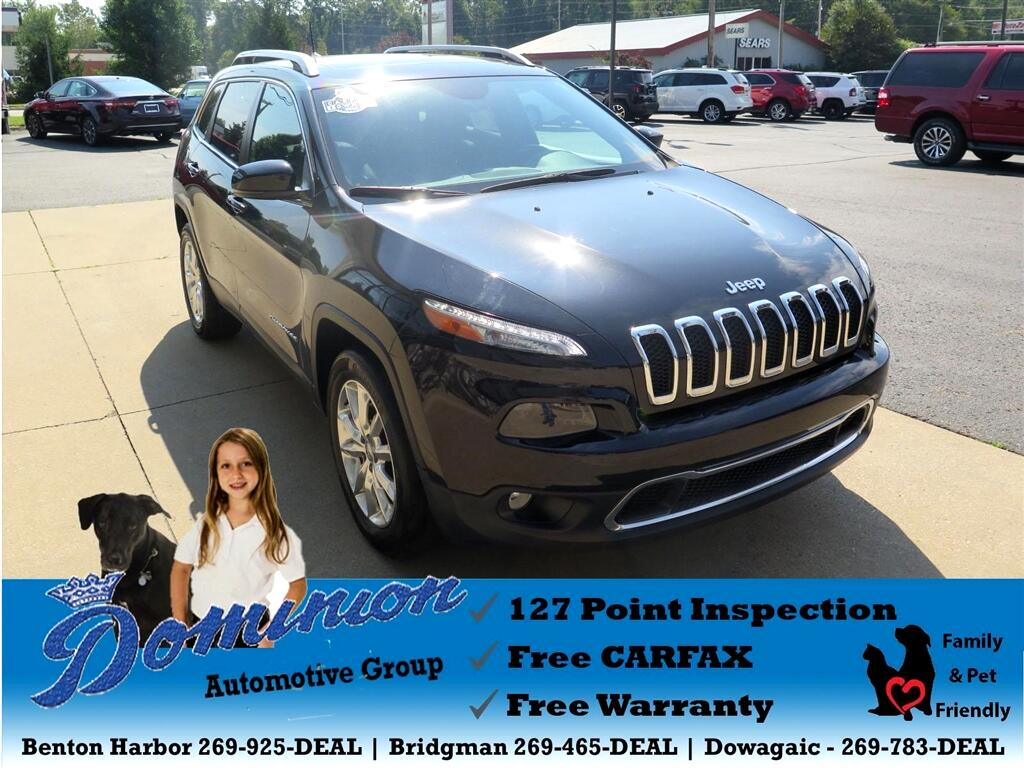 2016 Jeep Cherokee Limited 4WD