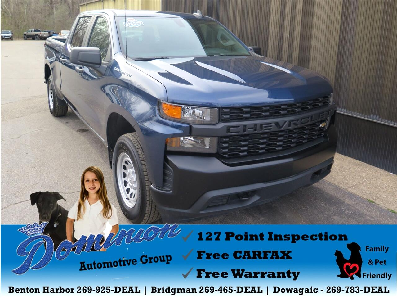2019 Chevrolet Silverado 1500 Work Truck Crew Cab Long Box 4WD